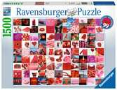 99 beautiful red things Puzzle;Erwachsenenpuzzle - Ravensburger