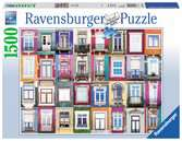 Portuguese Windows, 1500pc Puslespil;Puslespil for voksne - Ravensburger