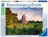 Windmolen aan de Oostzee Puzzels;Puzzels voor volwassenen - Ravensburger