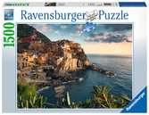 Puzzle 1500 p - Vue sur les Cinque Terre Puzzle;Puzzle adulte - Ravensburger