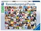 99 Katzen Puzzle;Erwachsenenpuzzle - Ravensburger