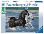 Paarden op het strand Puzzels;Puzzels voor volwassenen - Ravensburger