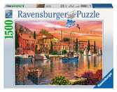 Mediterrane haven Puzzels;Puzzels voor volwassenen - Ravensburger