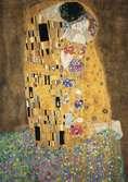 KLIMT - POCAŁUNEK 1500EL Puzzle;Puzzle dla dorosłych - Ravensburger