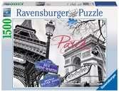 PARYŻ-MOJA MIŁOŚĆ 1500EL 14 Puzzle;Puzzle dla dorosłych - Ravensburger