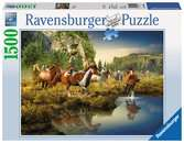 Wild Horses Jigsaw Puzzles;Adult Puzzles - Ravensburger