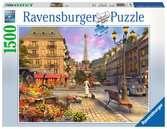 Vintage Paris Puslespil;Puslespil for voksne - Ravensburger