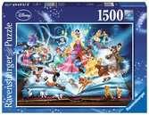 Disney's magische sprookjesboek Puzzels;Puzzels voor volwassenen - Ravensburger