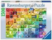 99 Beautiful Colors Puzzle;Erwachsenenpuzzle - Ravensburger