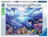 Dauphins joueurs / Lassen Puzzle;Puzzle adulte - Ravensburger