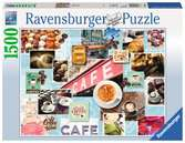 Kaffee und Kuchen Puzzle;Erwachsenenpuzzle - Ravensburger