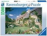 DOMEK LETNISOWY NA BREDON HILL 1500EL Puzzle;Puzzle dla dorosłych - Ravensburger
