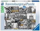 Farbtupfer in New York Puzzle;Erwachsenenpuzzle - Ravensburger