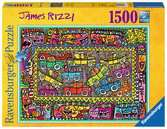 James Rizzi: We are on our way to your party Puzzle;Erwachsenenpuzzle - Ravensburger