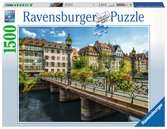Summery Strasbourg, 1500pc Puzzles;Adult Puzzles - Ravensburger