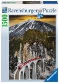 Montagne hivernale Puzzle;Puzzle adulte - Ravensburger