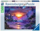 Sonnenaufgang im Paradies Puzzle;Erwachsenenpuzzle - Ravensburger