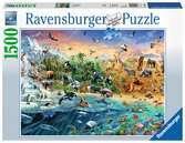 Our Wild World Ravensburger Puzzle  1500 pz Puzzle;Puzzle da Adulti - Ravensburger