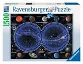 Puzzle 1500 p - Planisphère céleste Puzzle;Puzzle adulte - Ravensburger