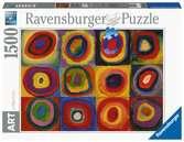 Etude de couleurs / Wassily Kandinsky Puzzle;Puzzle adulte - Ravensburger