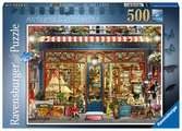 Ravensburger Antiques & Curiosities 500 piece Jigsaw Puzzle for Adults & for Kids Age 10 and Up Puslespil;Puslespil for voksne - Ravensburger