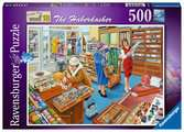 Happy Days at Work, The Haberdasher, 500pc Puzzles;Adult Puzzles - Ravensburger
