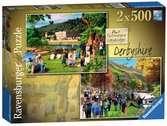 Picturesque Derbyshire 2x 500pc Puzzles;Adult Puzzles - Ravensburger