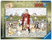 Crazy Cats - Lost in the Post, 1000pc Puzzles;Adult Puzzles - Ravensburger