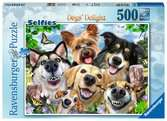 Selfies Dogs  Delight, 500pc Puzzles;Adult Puzzles - Ravensburger