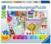 Needlework Station Jigsaw Puzzles;Adult Puzzles - Ravensburger
