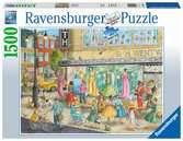 Sidewalk Fashion, 1500pc Puzzles;Adult Puzzles - Ravensburger