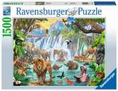 Waterfall Safari Jigsaw Puzzles;Adult Puzzles - Ravensburger