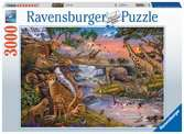 Animal Kingdom, 3000pc Puzzles;Adult Puzzles - Ravensburger