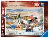Boerderij in de winter / La ferme en hiver Puzzels;Puzzels voor volwassenen - Ravensburger