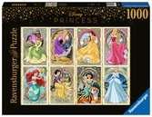Art Nouveau prinsessen Puzzels;Puzzels voor volwassenen - Ravensburger