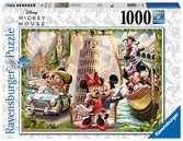 DMM: Vacation Mickey&Minni1000p Puslespil;Puslespil for voksne - Ravensburger