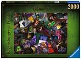 Puzzle 2000 p - Les Méchants Disney (Collection Disney Villainous) Puzzle;Puzzle adulte - Ravensburger