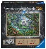 Escape Puzzle 759pc, Unicorns Puslespil;Puslespil for voksne - Ravensburger