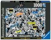 Puzzle 1000 p - Batman (Challenge Puzzle) Puzzle;Puzzle adulte - Ravensburger
