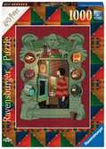 Harry Potter at home with the Weasley Family 1000p Puslespil;Puslespil for voksne - Ravensburger