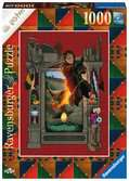 Puzzle 1000 p - Harry Potter et la Coupe de Feu (Collection Harry Potter MinaLima) Puzzle;Puzzle adulte - Ravensburger
