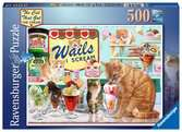 The Cat who go the cream! 500p Puslespil;Puslespil for voksne - Ravensburger