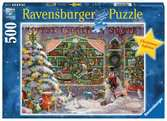 The Christmas Shop Puslespil;Puslespil for voksne - Ravensburger