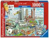 Fleroux - Rotterdam, cities of the world Puzzels;Puzzels voor volwassenen - Ravensburger