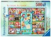 Kitschy Kitchen           500p Puslespil;Puslespil for voksne - Ravensburger