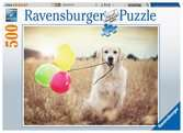 Happy Retriever, 500pc Puslespil;Puslespil for voksne - Ravensburger