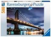 Puzzle 500 p - New York, la ville qui ne dort jamais Puzzle;Puzzle adulte - Ravensburger