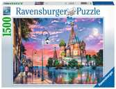 Puzzle 1500 p - Moscou Puzzle;Puzzle adulte - Ravensburger
