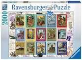 WAKACYJNE ZNACZKI 2000 EL Puzzle;Puzzle dla dorosłych - Ravensburger
