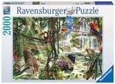 Animaux dans la jungle Puzzle;Puzzle adulte - Ravensburger
